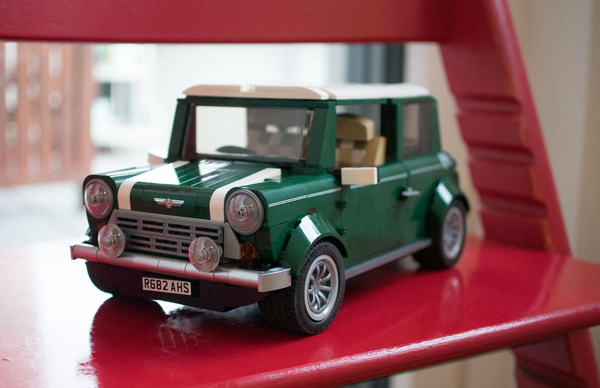 LEGO Creator MINI Cooper Gewinnspiel DETAIL AUTO
