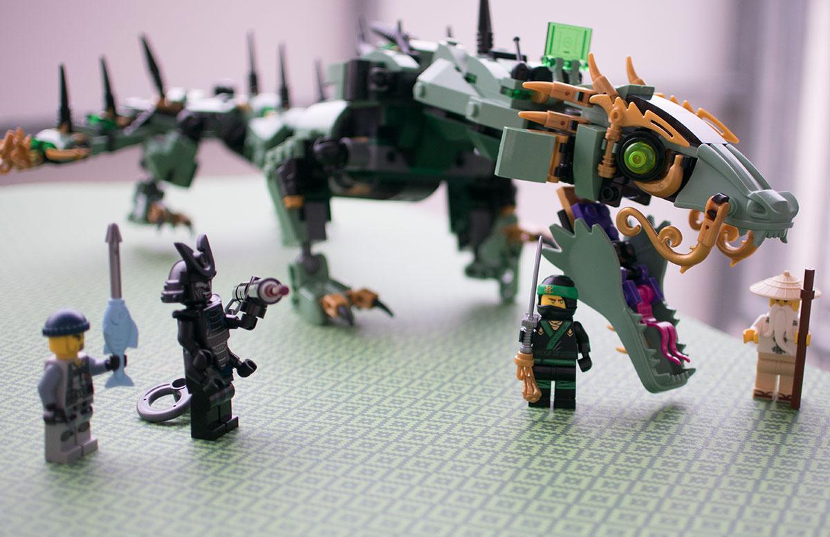 LEGO Ninjago Mech-Drache des Grünen Ninja 70612 lloyd andere figuren