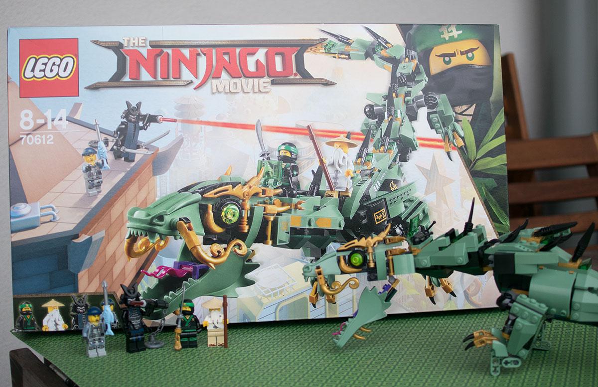 LEGO Ninjago Mech-Drache des Grünen Ninja 70612 schachtel