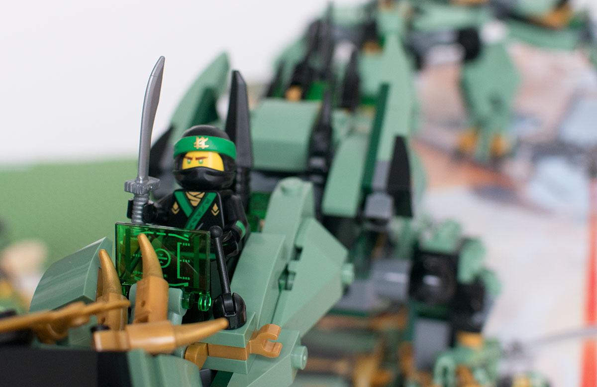 LEGO Ninjago Mech-Drache des Grünen Ninja 70612 lloyd