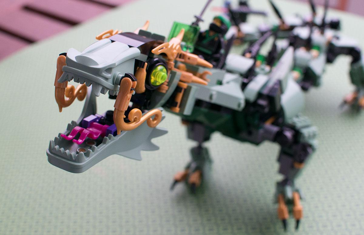 LEGO Ninjago Mech-Drache des Grünen Ninja 70612 schnappmaul