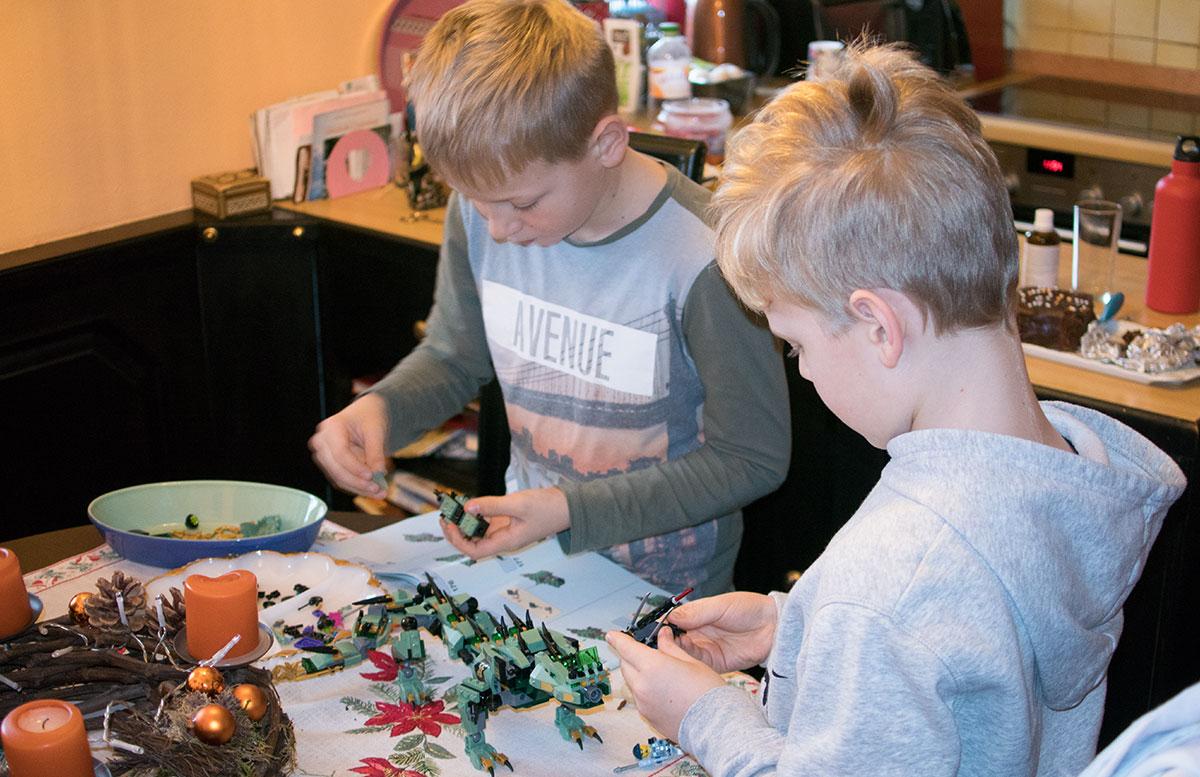 LEGO Ninjago Mech-Drache des Grünen Ninja 70612 zusammenbauen