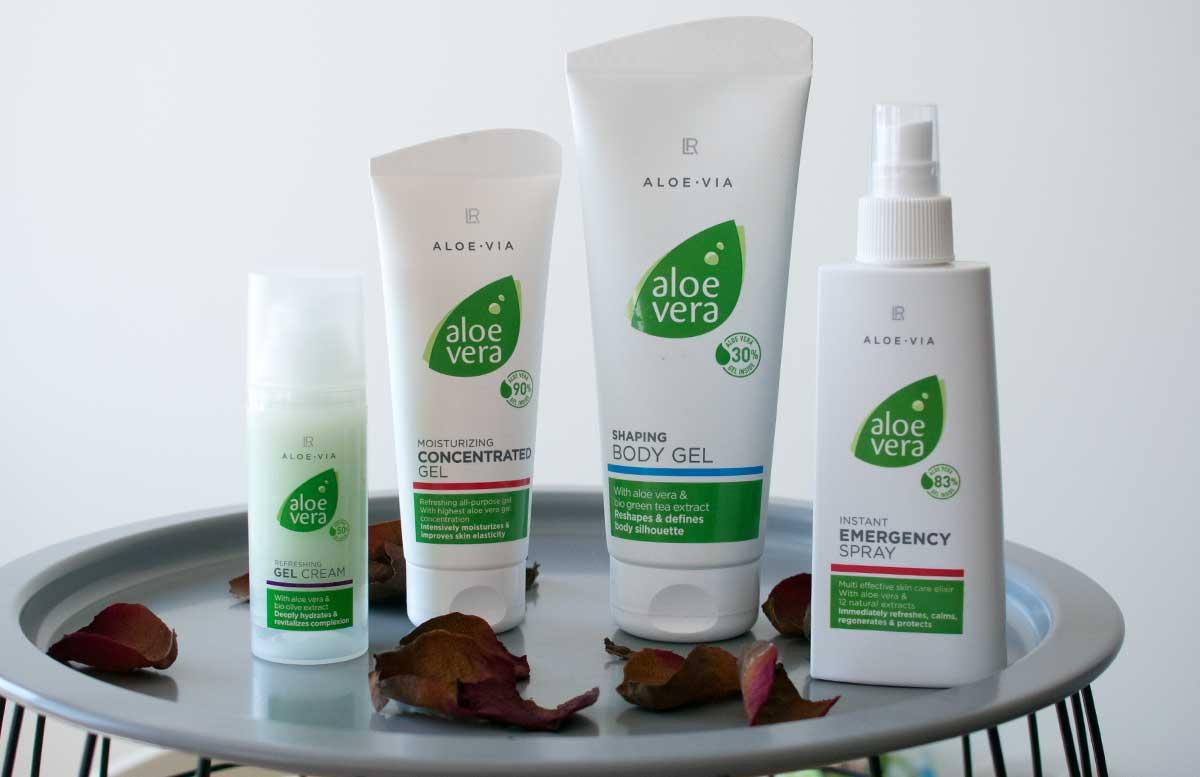 LR Aloe Vera Pflegeserie ALOE VIA für sonnengestresste Haut alle produkte