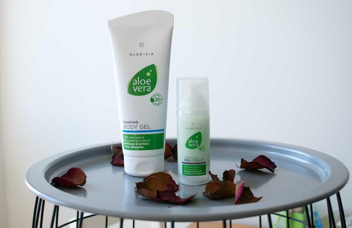 LR Aloe Vera Pflegeserie ALOE VIA für sonnengestresste Haut body gel