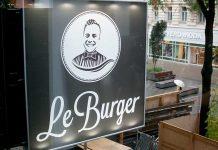LeBurger-Eröffnung-in-der-Mariahilferstraße-das-schild