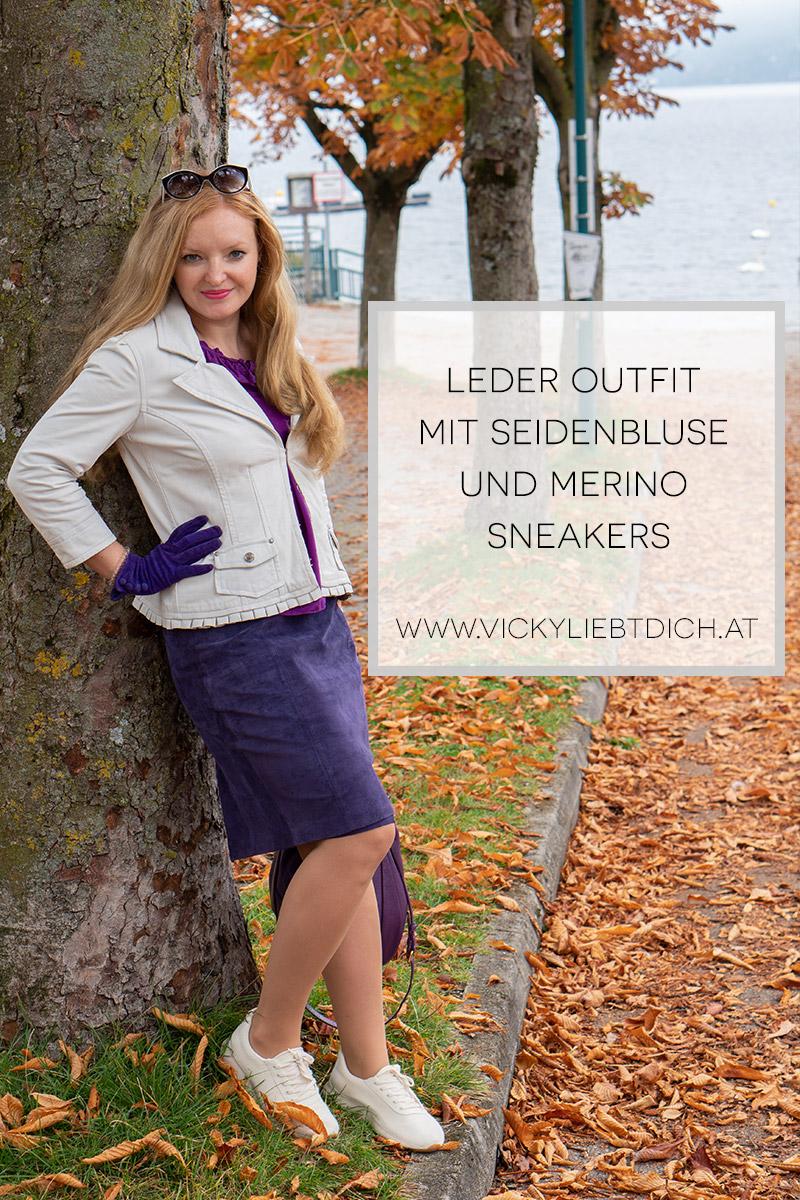 Leder-Outfit-mit-Seidenbluse-und-Merino-Sneakers-pinterest