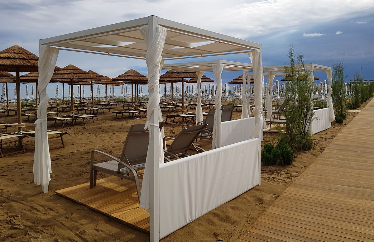 Lino-delle-fate-Eco-village-Resort-in-Bibione-strand-abschnitt
