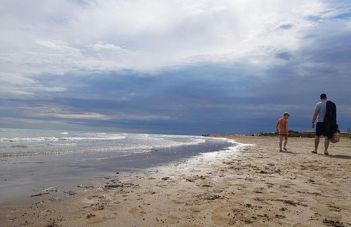 Lino-delle-fate-Eco-village-Resort-in-Bibione-strandspaziergang