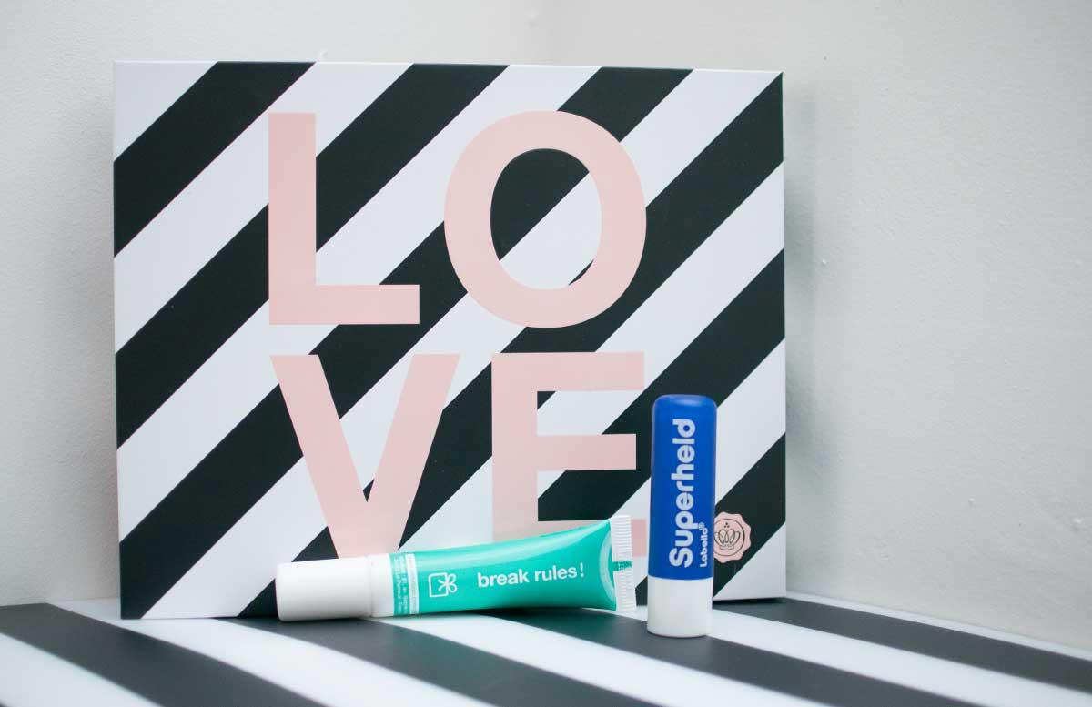 Love Edition Glossybox Februar eye serum labello