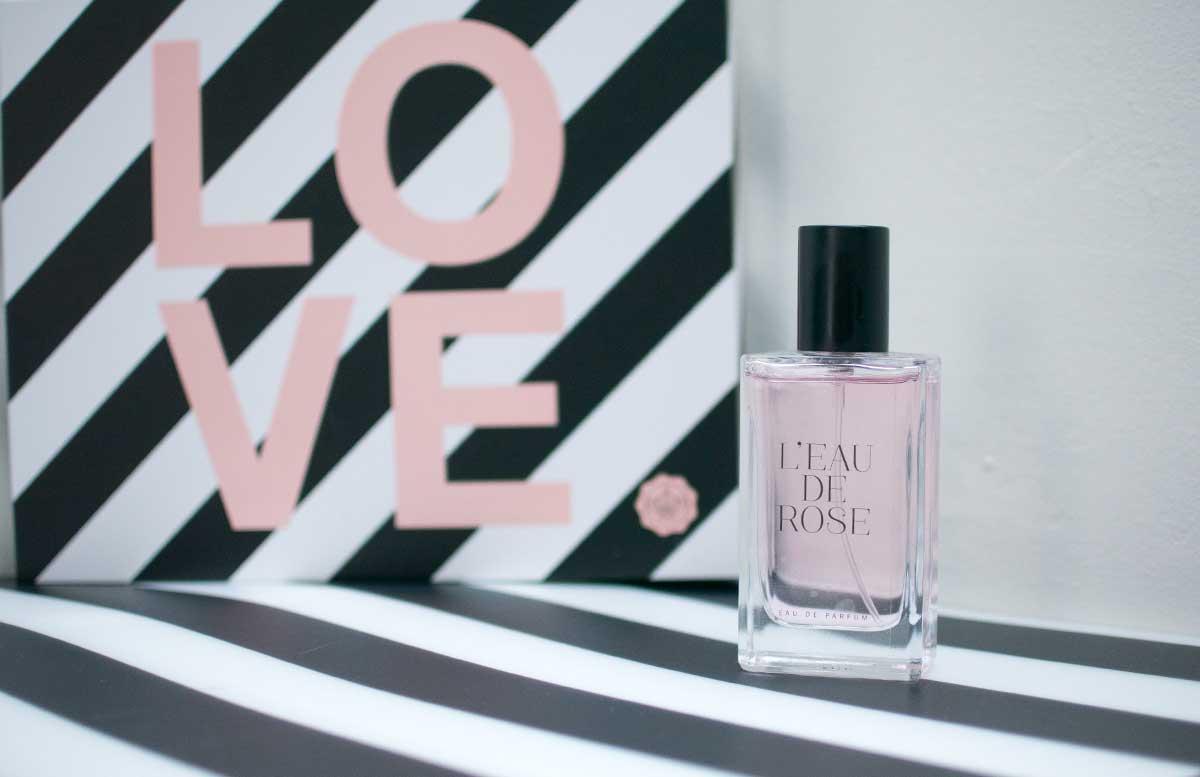 Love Edition Glossybox Februar eau de parfum l'eau de rose