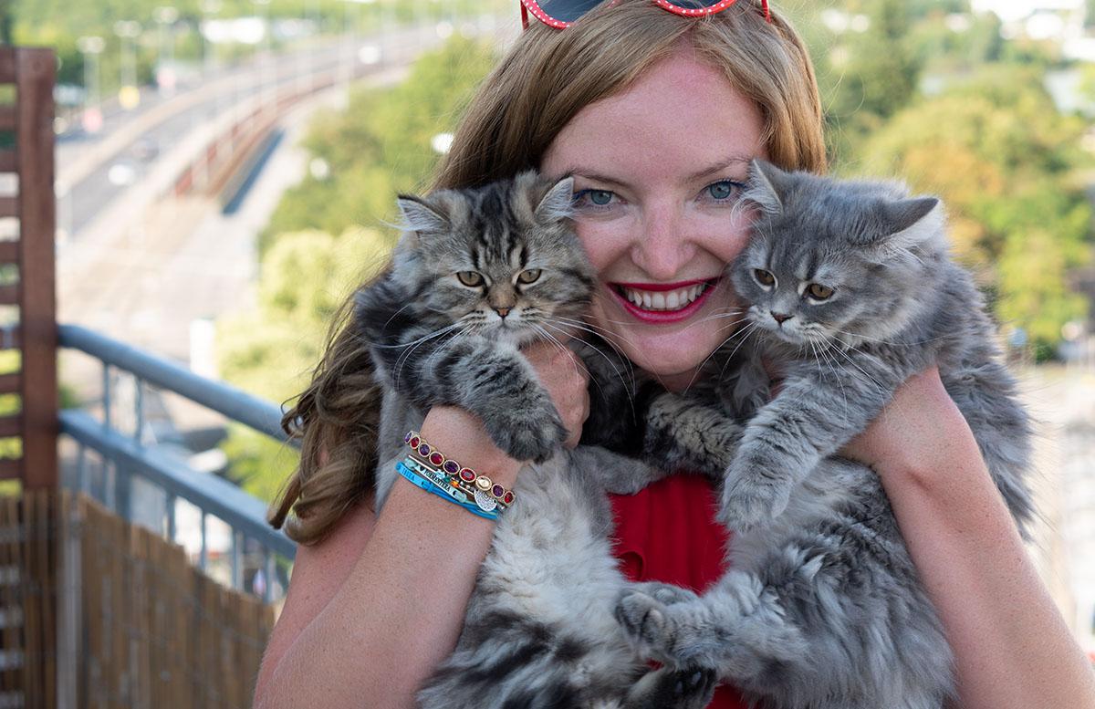 Luna und Peppa - unsere Sibirische Waldkatzen