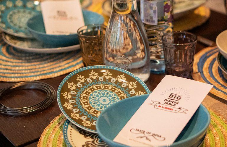 M Lounge – Big Dinner Table Taste of India