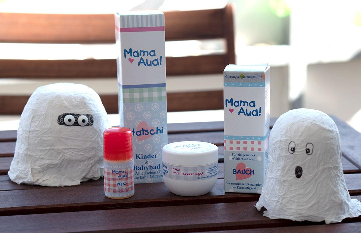 Mama Aua Pflege für Kinder - Praktische Helfer für den Winter