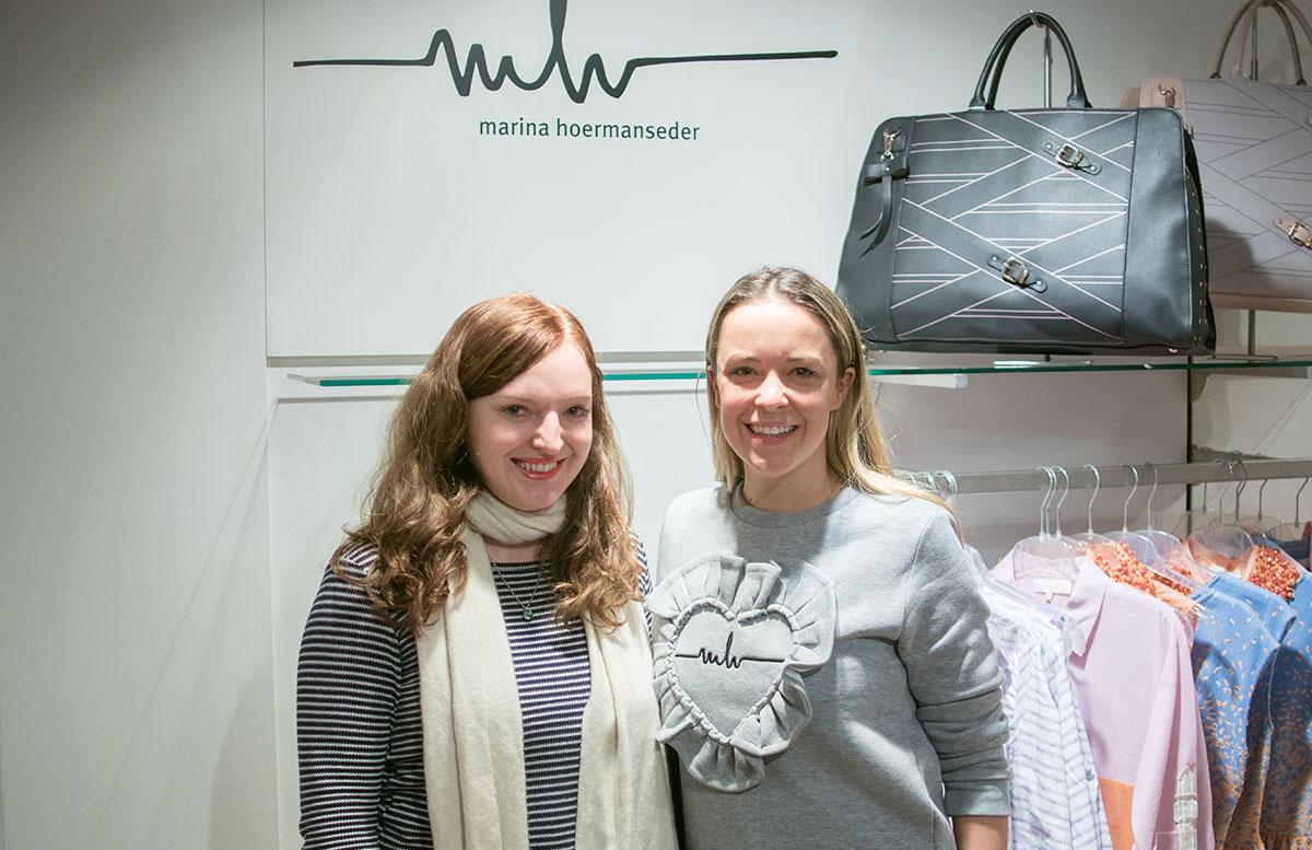 Marina Hoermanseder und die Austrias next Topmodels in Fürstenfeld marina und ich