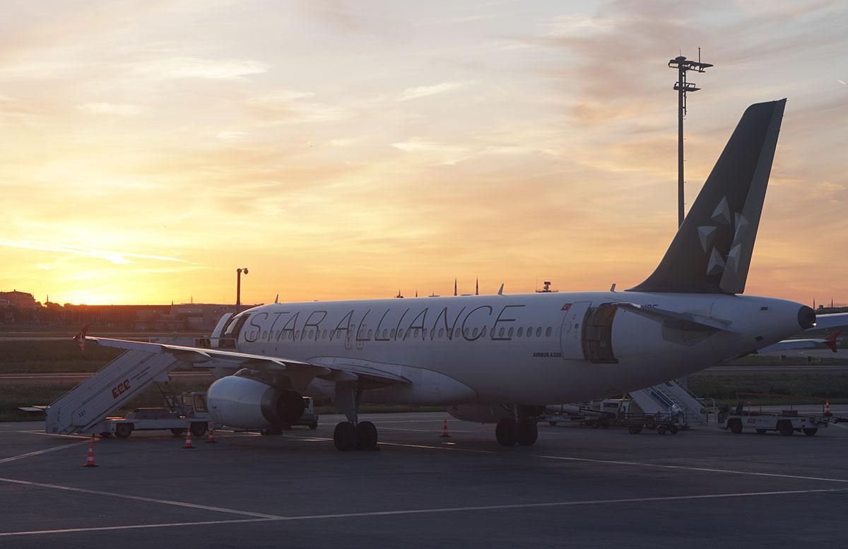 Mein-Business-Class-Flug-mit-Turkish-Airlines-sonnenuntergang
