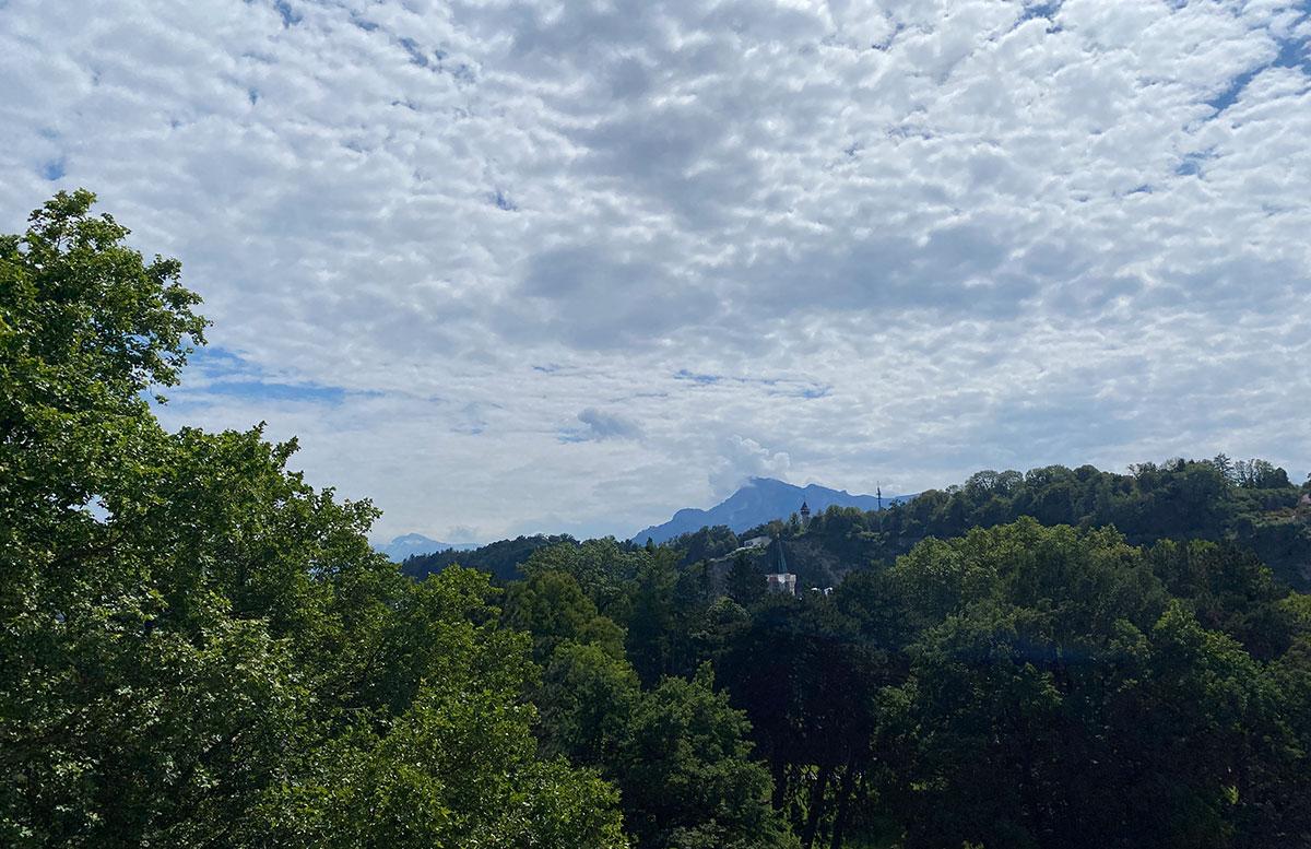 Mein-Geburtstag-im-Sheraton-Grand-Hotel-Salzburg blick auf den park