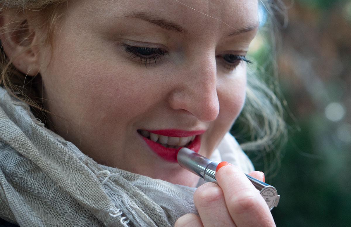 Meine Duft und Pflege Neuheiten vom Marionnaud Press Day givenchy lippenstift vicky trägt