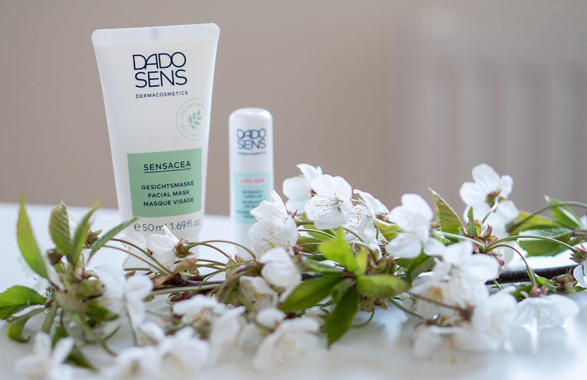 Meine-liebsten-DADO-SENS-Hautpflege-Produkte-gesichtsmaske-lippenpflege