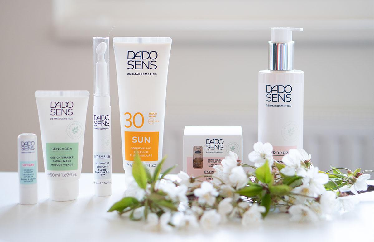 Meine-liebsten-DADO-SENS-Hautpflege-Produkte