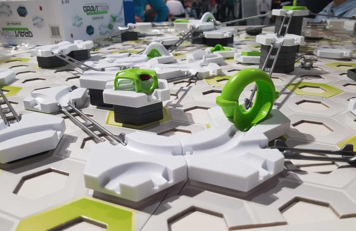 Modellbau Messe Wien 2017 spielzeug gravitrax murmelbahn