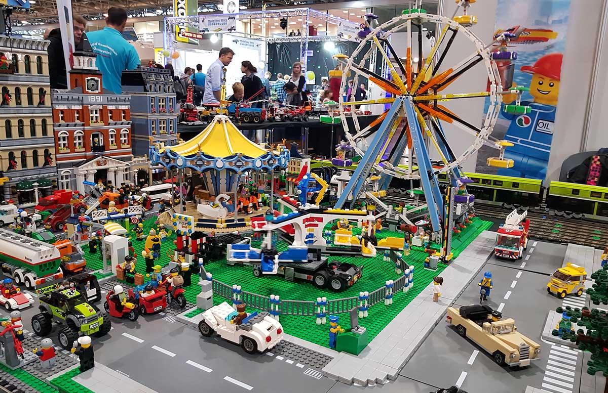 Modellbau Messe Wien 2017 spielzeug lego ausstellung