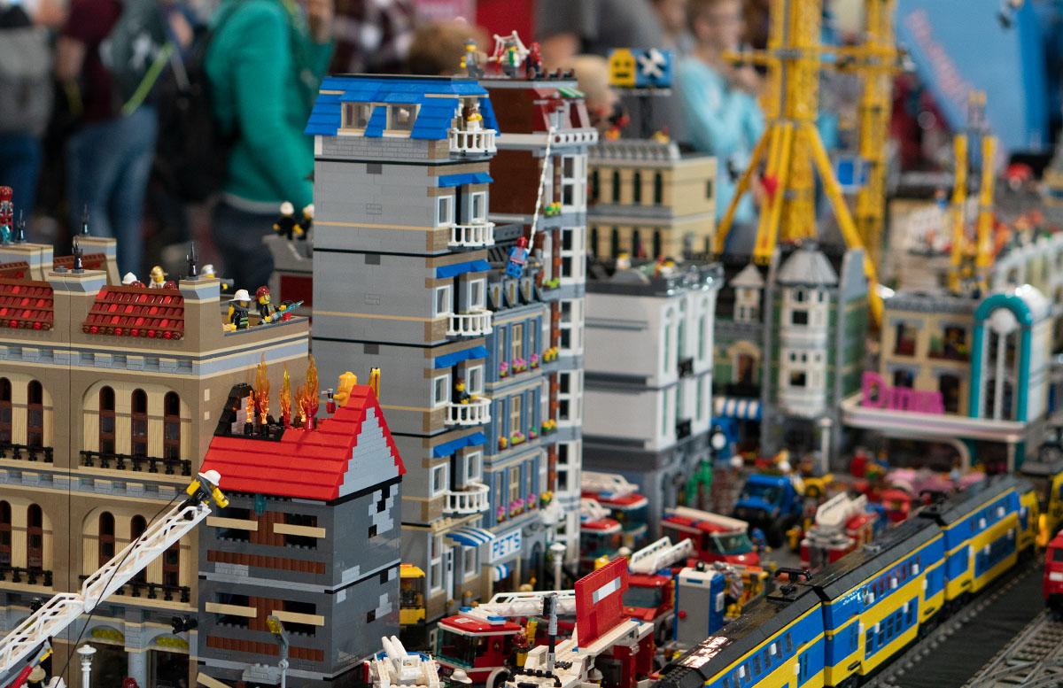 Modellbau Messe Wien 2018 Spielzeug und Modellbau Highlights lego ausstellung