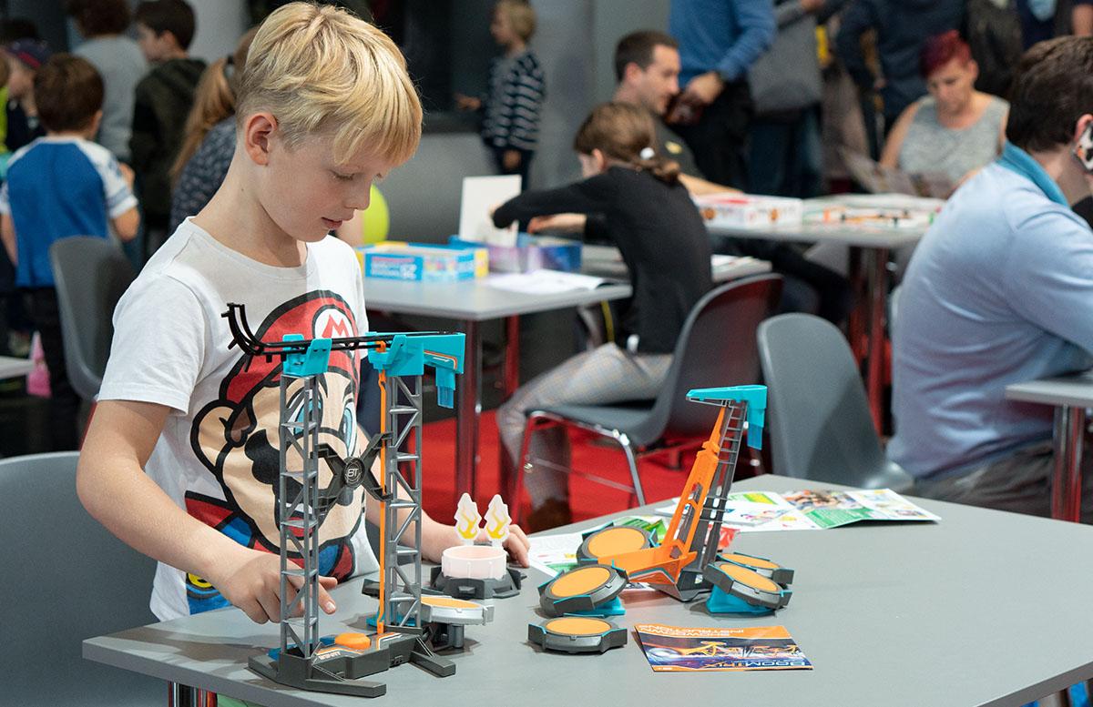 Modellbau Messe Wien 2018 Spielzeug und Modellbau Highlights spielzeug ausprobieren