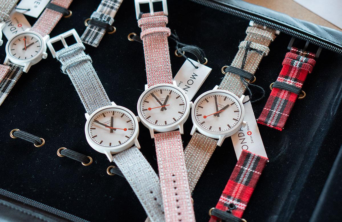 Mondaine-essence-Winter-Uhrenkollektion-2019--verschiedene-armbänder-sommer