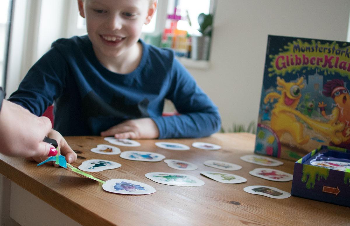 Monsterstarker Glibber-Klatsch Kinderspiel von Ravensburger monster geklatscht