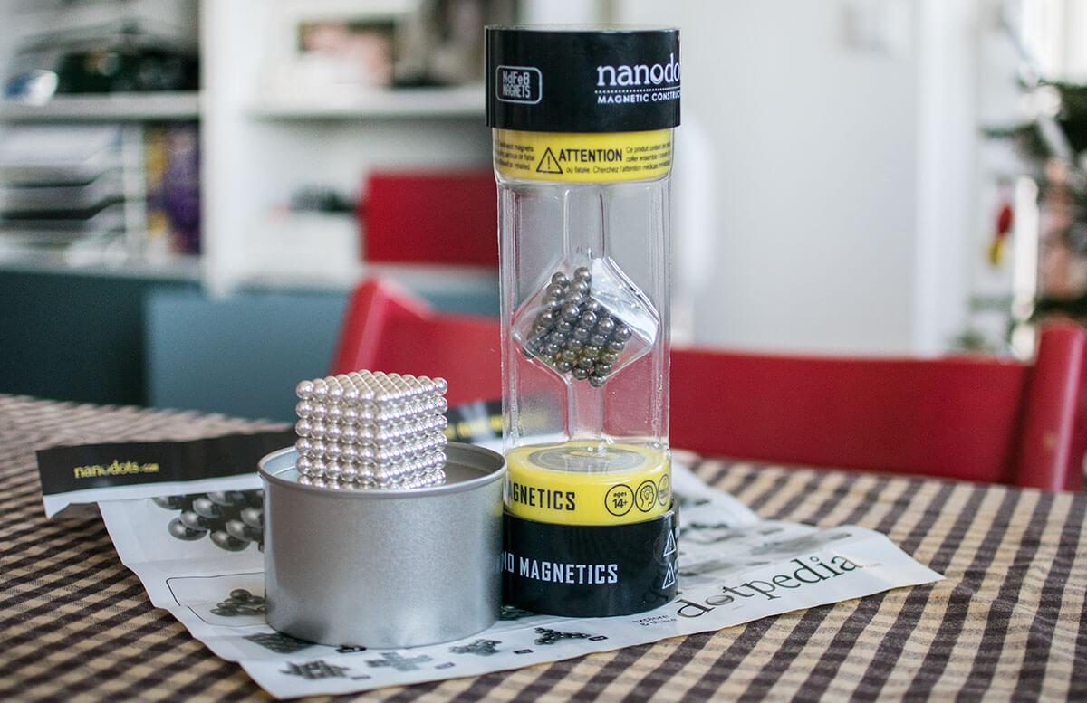 Nanodots Magnetkugeln - Das neue Trend-Spielzeug