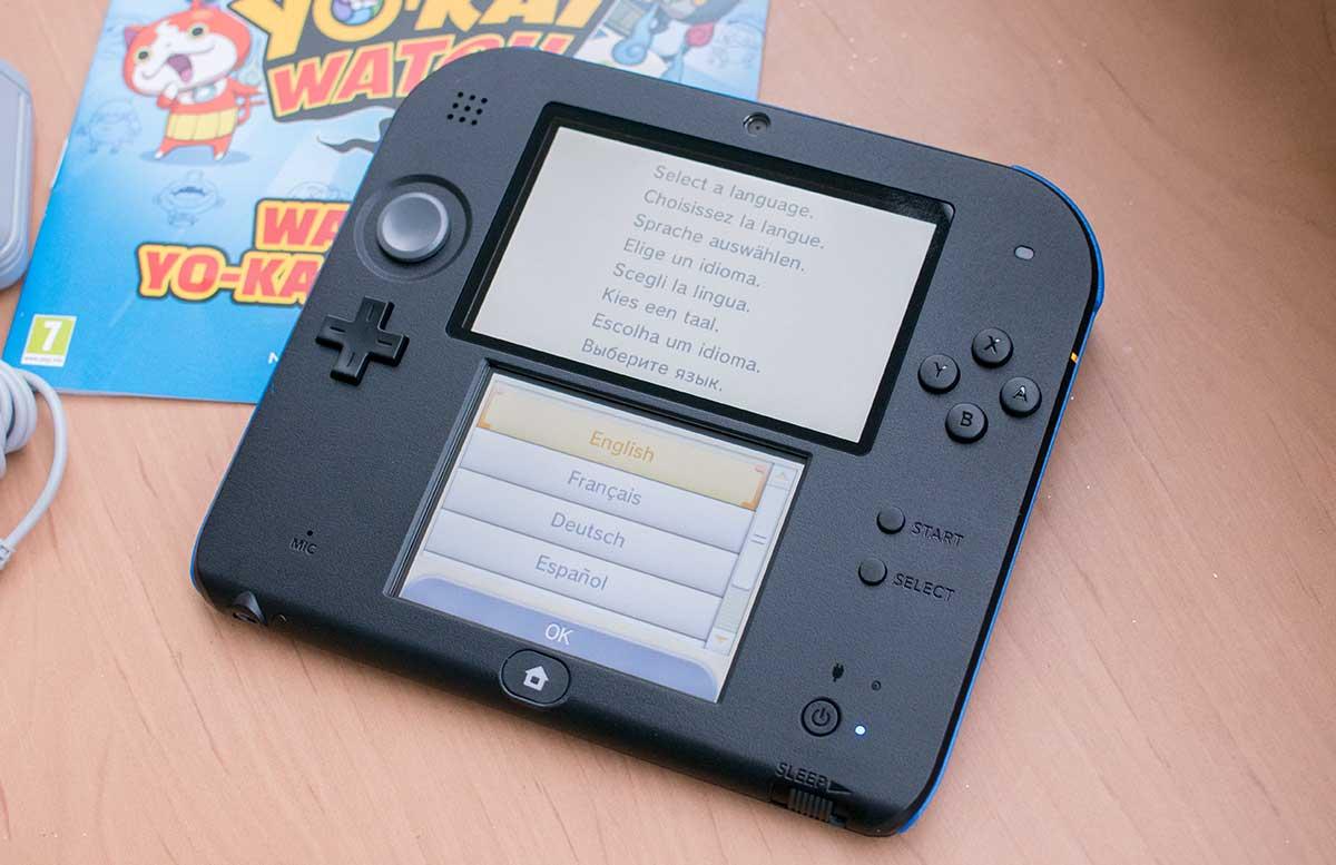 Nintendo-2DS-Nintendo 2DS YO-KAI WATCH-in-betriebnahme-neu