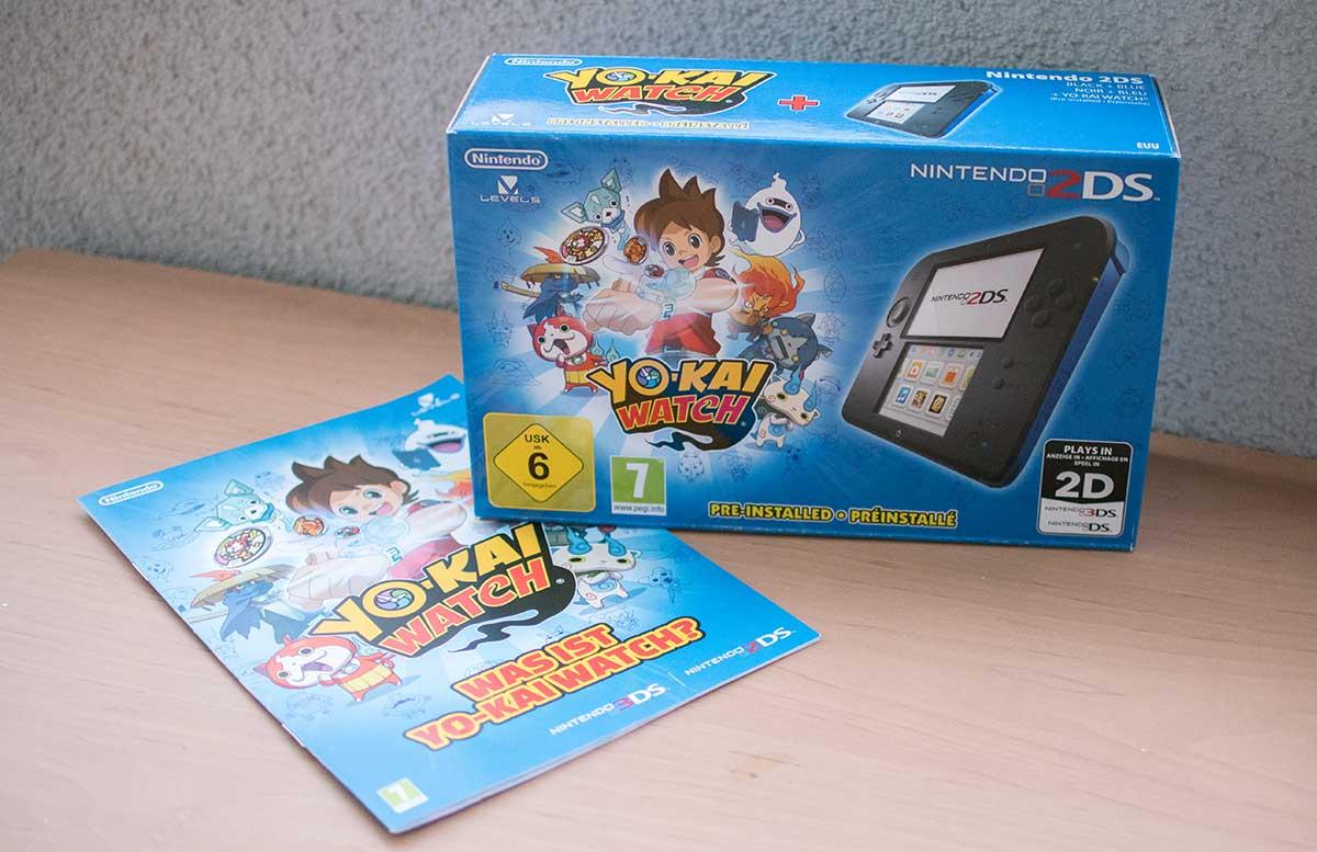 Nintendo-2DS-Nintendo 2DS YO-KAI WATCH-set