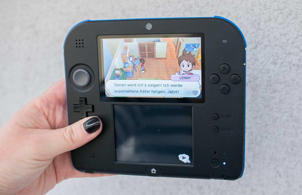 Nintendo-2DS-Nintendo 2DS YO-KAI WATCH-spieldetail