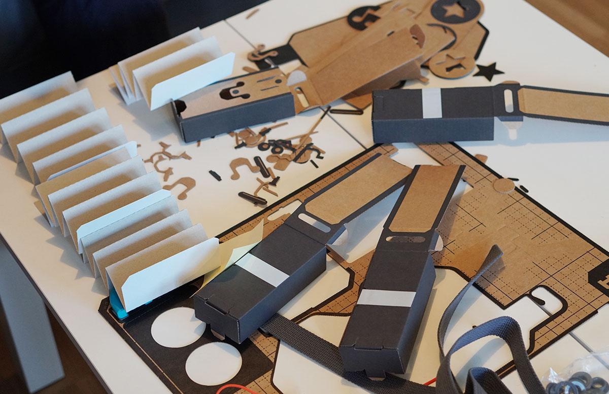 Nintendo Labo Robo-Set für die Switch labo bauset einzelteile