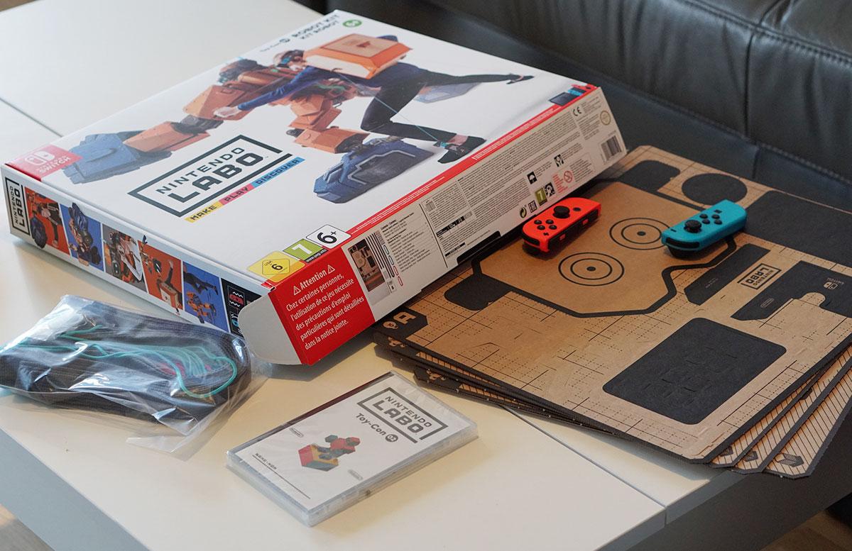 Nintendo-Labo-Robo-Set-für-die-Switch-labo-schachtel