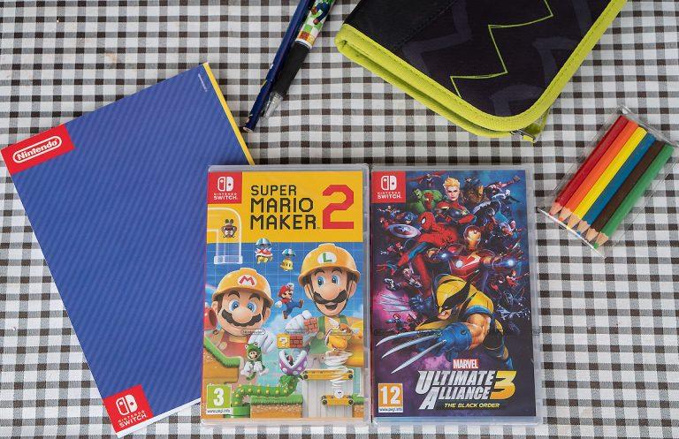 Nintendo Switch Gewinnspiel zum Schulstart