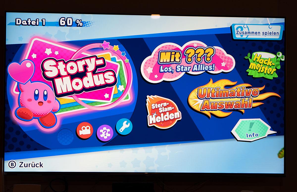 Nintendo Switch Mario Tennis Aces und Kirby Star Allies kirby spiel storymodus