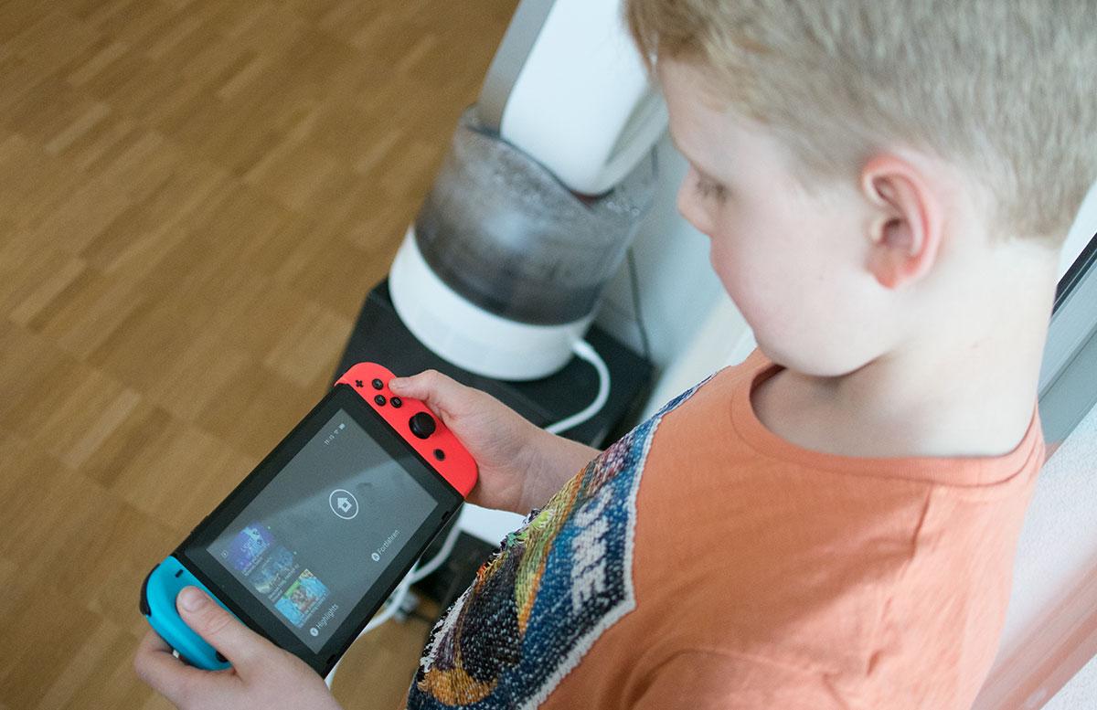 Nintendo Switch - die flexible Spielekonsole handheld modus
