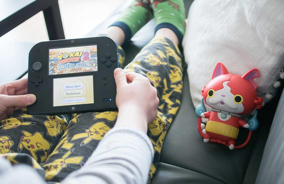 Nintendo YO-KAI WATCH 2 kräftige Seelen jibanyan