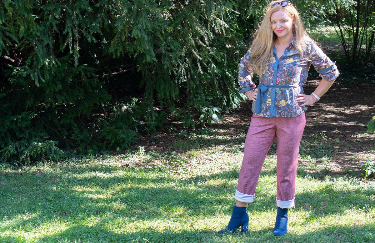 Outfit-Idee-Retro-Trend-Schluppenbluse-lässige-hose