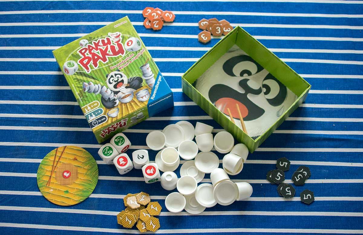 Paku Paku W  rfelspiel von Ravensburger
