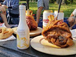 Picknick-im-Wiener-Prater-stelze-und-sekt