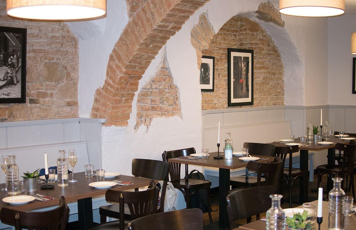 Pizzeria Basilico - Restaurant Tipp in Wien prosciutto räumlichkeiten