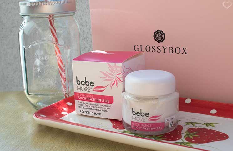Pretty-Picknick-Glossybox-Juli-bebe-more-feuchtigkeitspflege