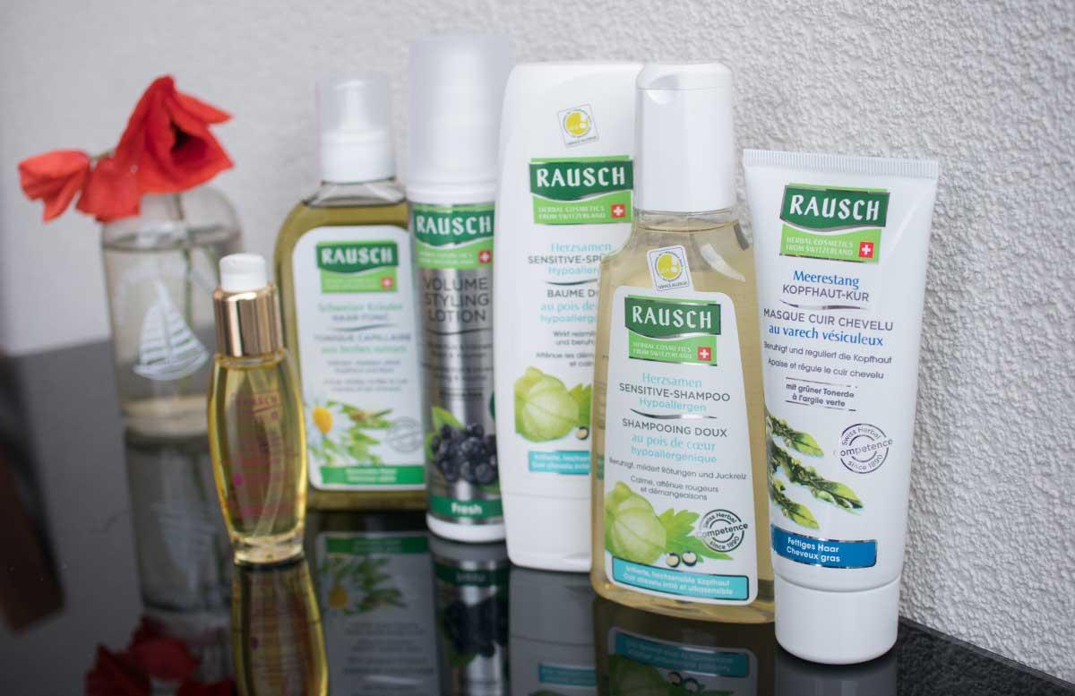RAUSCH Haarpflege Produkte für empfindliche Kopfhaut auswahl meine lieblinge