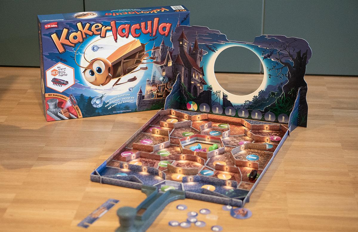 Ravensburger Kakerlacula - Der Hexbug ist los spieleplan
