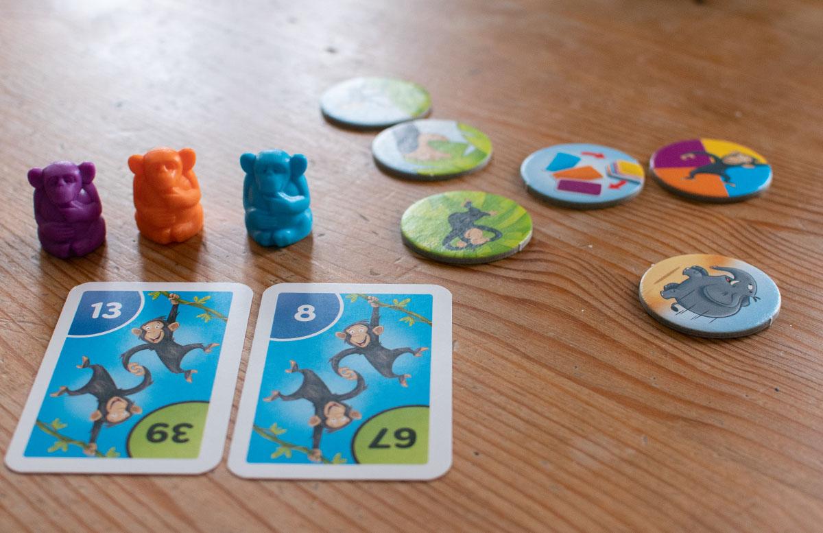 Ravensburger Lernspiele - Affenstarke Zahlen-Bande und ABC-Insel zahlenspiel figuren