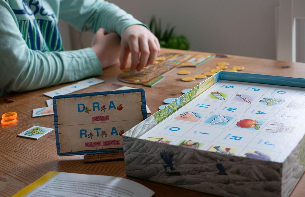 Ravensburger Lernspiele - Affenstarke Zahlen-Bande und ABC-Insel detail spiel