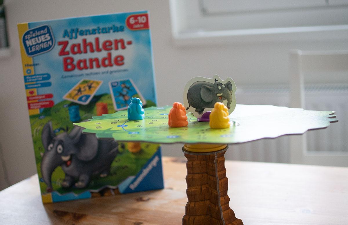 Ravensburger Lernspiele - Affenstarke Zahlen-Bande und ABC-Insel rechenspiel