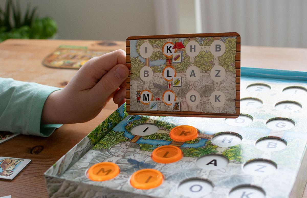 Ravensburger Lernspiele - Affenstarke Zahlen-Bande und ABC-Insel buchstaben wörter raten weg finden
